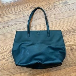GH Bass Reversible Leather Tote